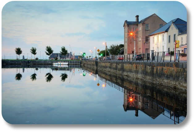 Irish Expressions:  Galway Activities - Morning View on the Claddagh