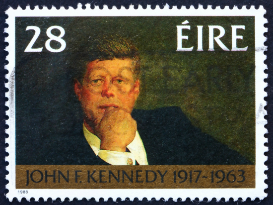 Irish Last Names - Kennedy Postage Stamp