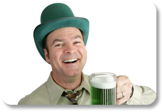 St Patricks Day Jokes - Toast and Green Beer