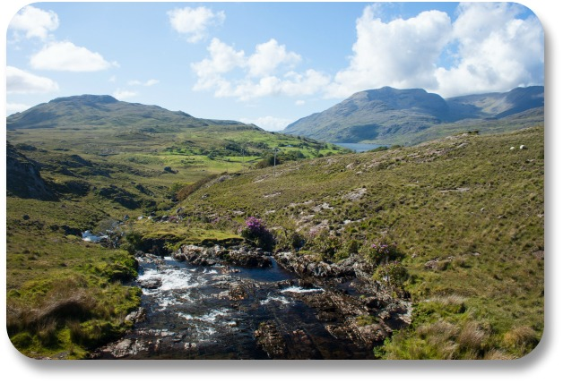 Connemara Travel - Stream in Connemara Landscape