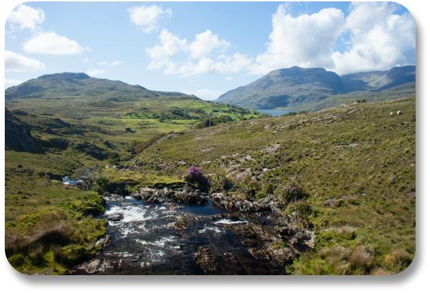 Connemara Travel - Stream in Connemara Landscape