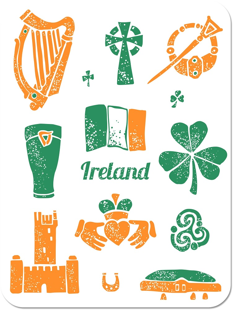 Image result for Irish symbols