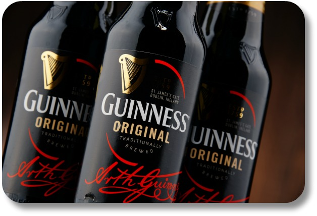 Irish Beer Brands - Bottles of Guinness