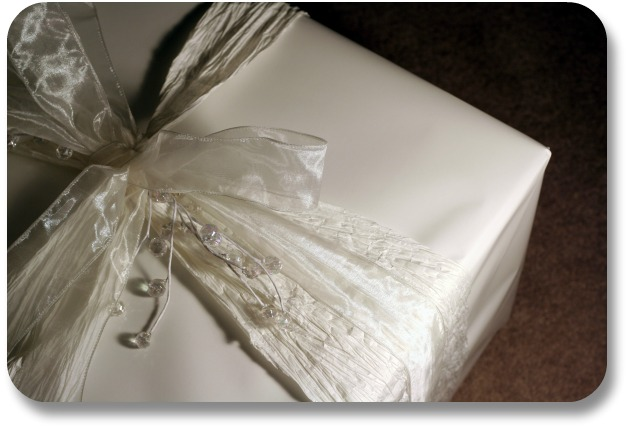 Irish Wedding Gift Ideas - Gift Wrapped in White