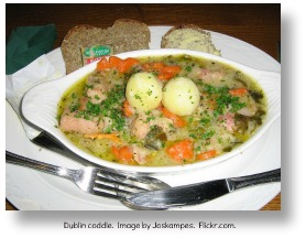 Irish recipes.  Dublin Coddle