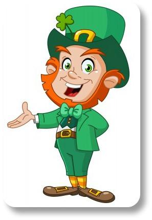 Funny Irish Sayings.  Leprechan presenting!