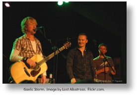 Gaelic Storm.  Image by Lost Albatross.  Flickr.com.