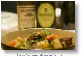 Guinness stew.  Image by idovermani.  Flickr.com.