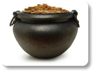 Halloween Limericks: Leprechan Gold In a Witch's Cauldron!