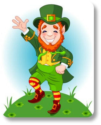 How to write a limerick.  Dancing leprechan.