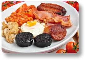 Irish food recipes.  Irish breakfast.