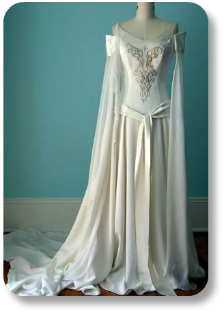 Irish Wedding Gown.
