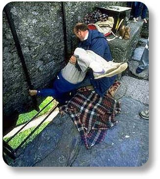 Irish Trivia - Kissing the Blarney Stone