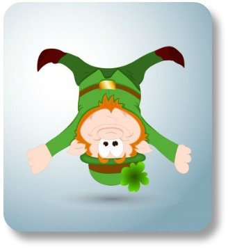 Limericks for kids.  Funny leprechan.