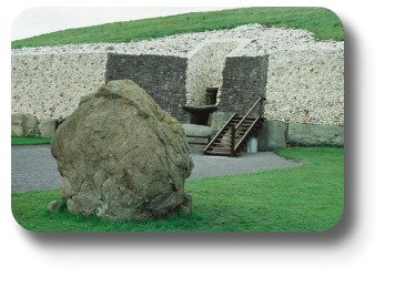 Ireland Travel Destinations - Newgrange Entrance