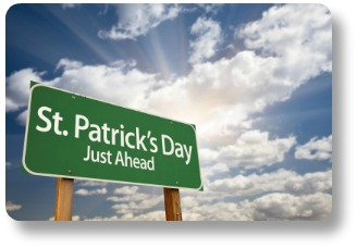 St Patricks Day poems - straight ahead