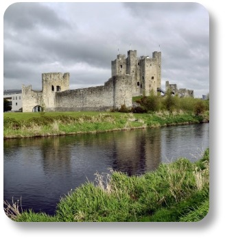 Irish expressions.  Trim Castle, County Meath, Ireland.