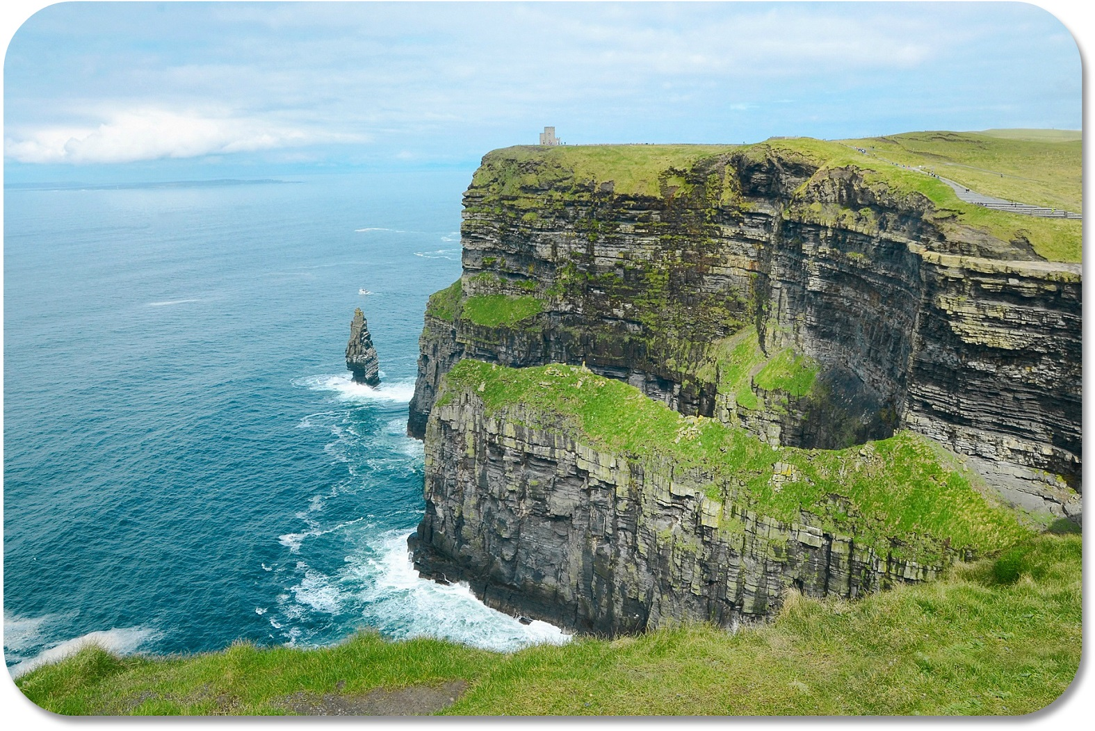 Irish Expressions - Cliffs of Moher.  Photocredit:  Theo Crazzolara via Flickr.