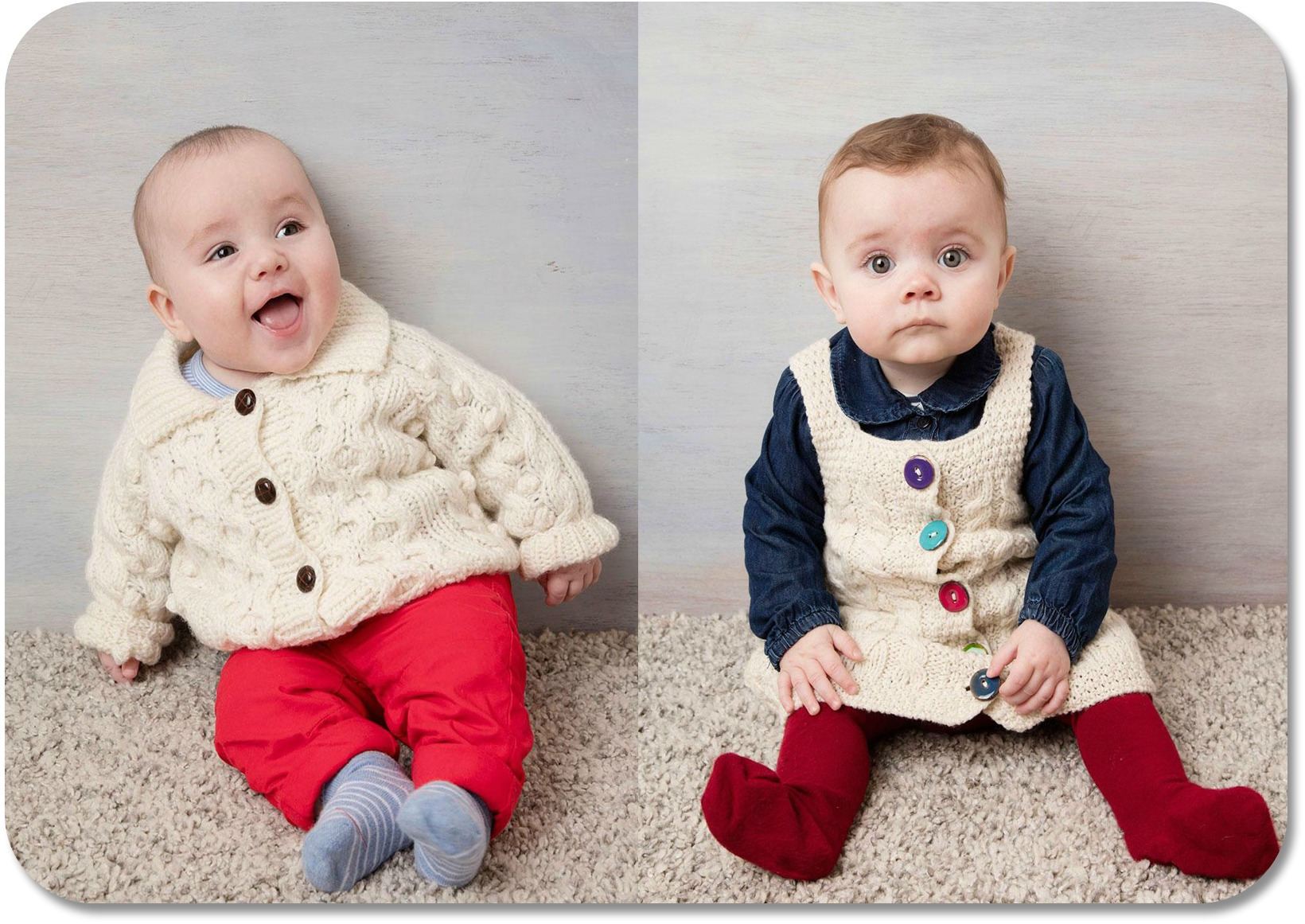 Traditional Irish Clothing - kids clothes from Blarney Woollen Mills.