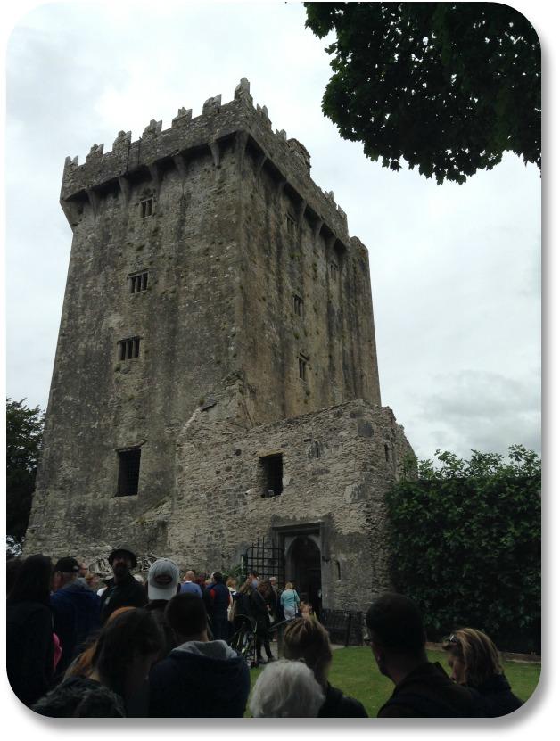 Kiss the Blarney Stone - Entrance to Blarney Castle