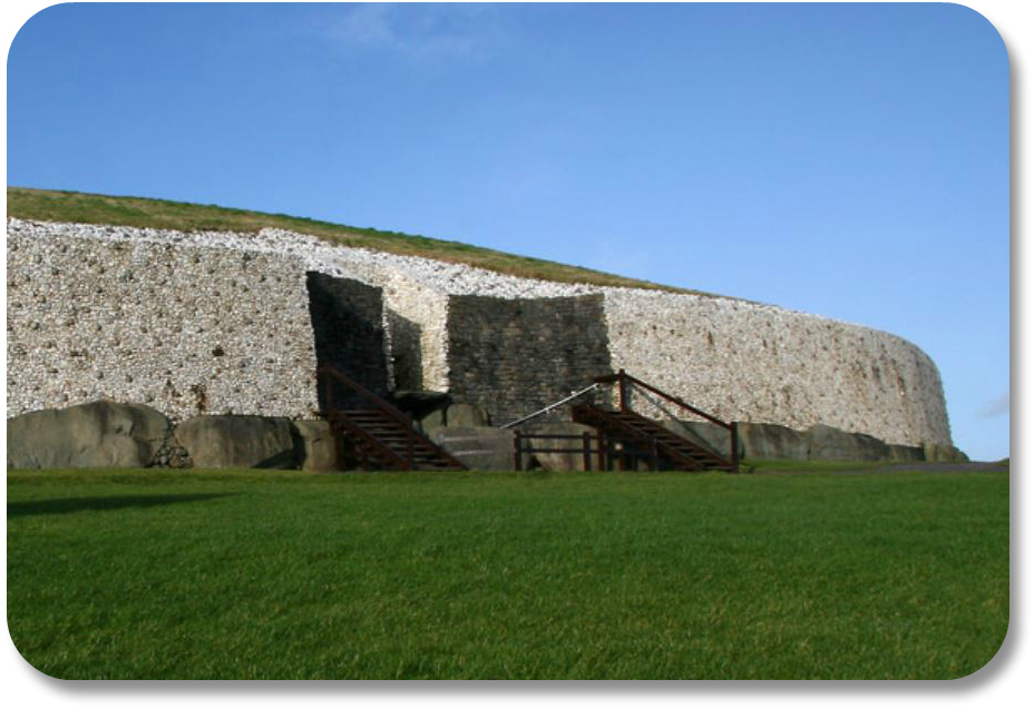 Irish Expressions - Newgrange.  Photocredit:  Dee McEvoy via Flickr