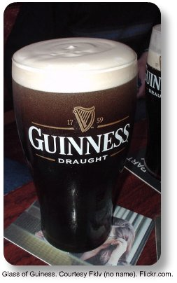Glass of Guinness