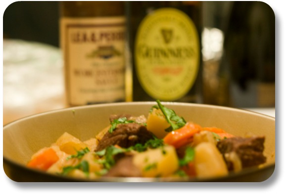 Irish Expressions - Guinness Beef Stew.  Photocredit:  Wikimedia Commons