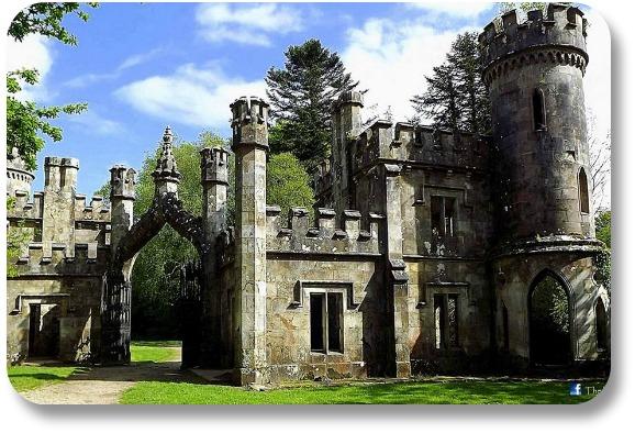 Ireland Castle Vacations - Ballysaggartmore Towers. Photocredit:  The Irish Way.