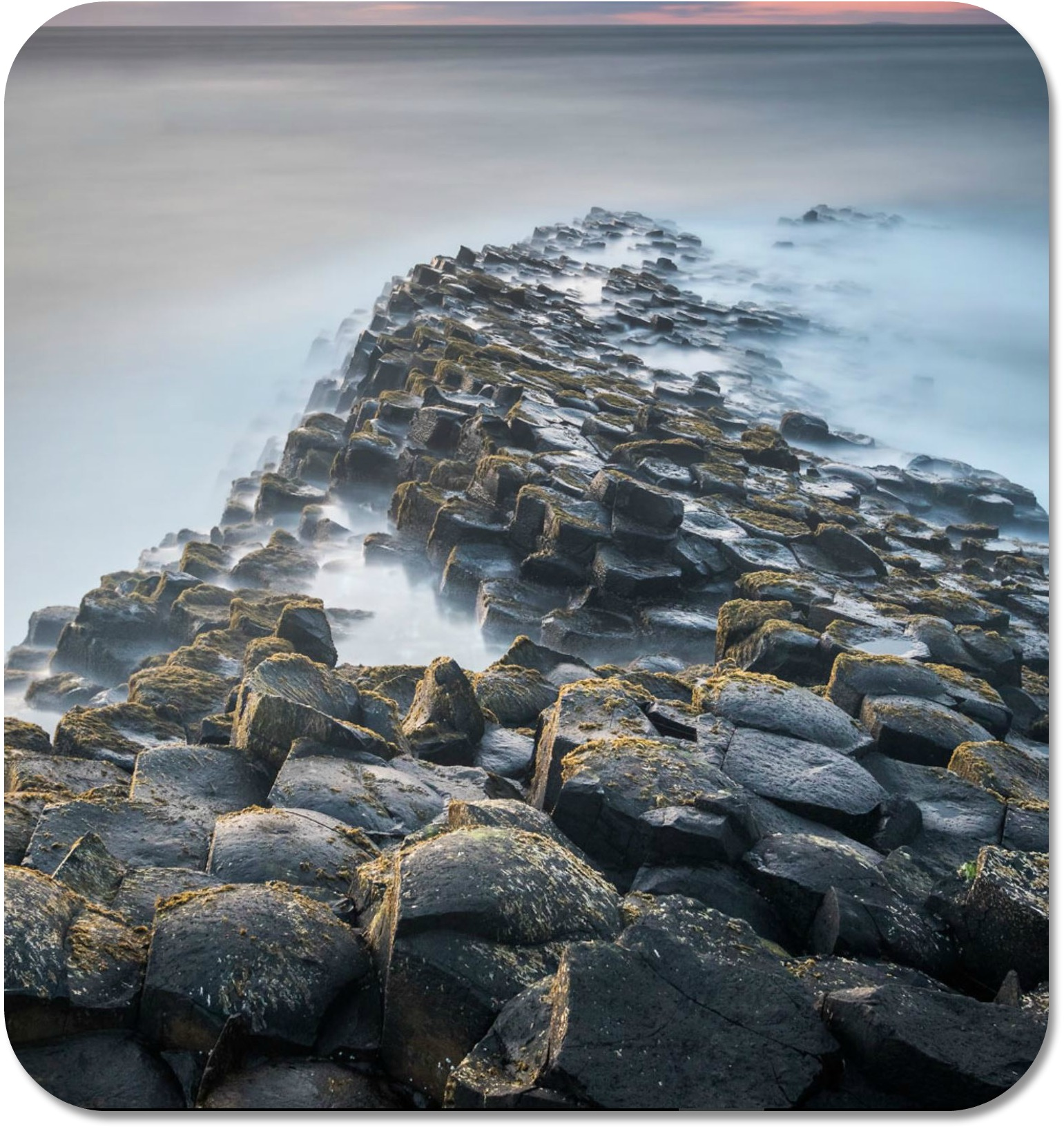 Irish Expressions - Giant's Causeway.  Photocredit:  Stephen Allen.