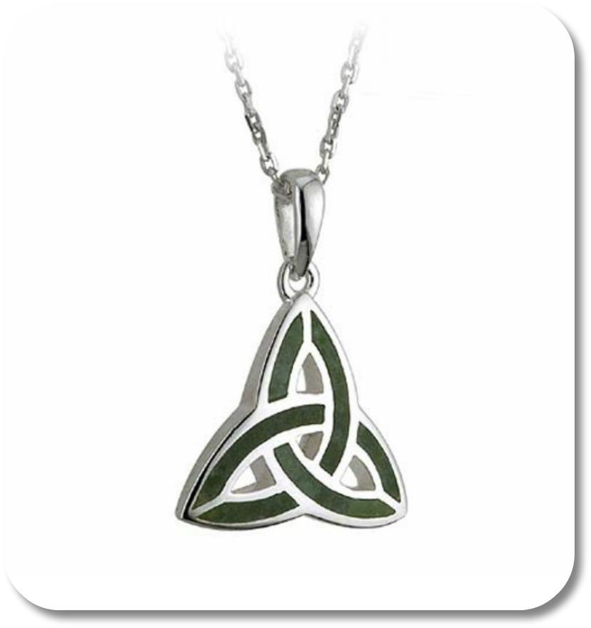 Celtic Trinity Symbol - Trinity Symbol Pendant.