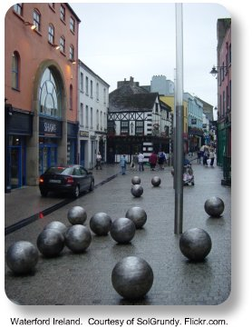 Waterford Ireland.  Image by SolGrundy. Flickr.com