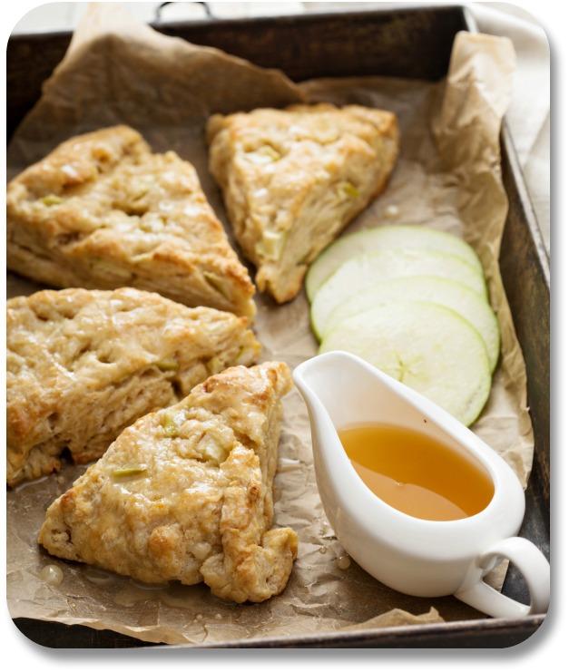 Irish Desserts - Apple Scone Recipe