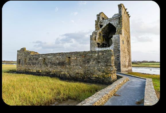 Carrigafoyle Castle.