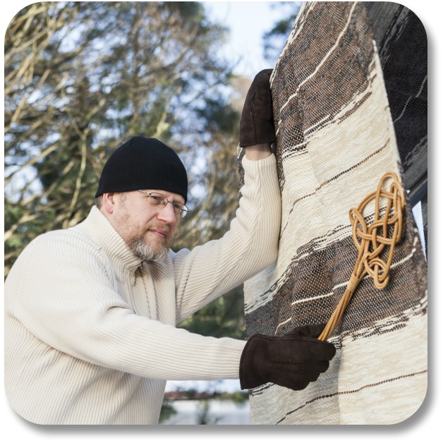 Irish Christmas Traditions - Man Doing Household Chores