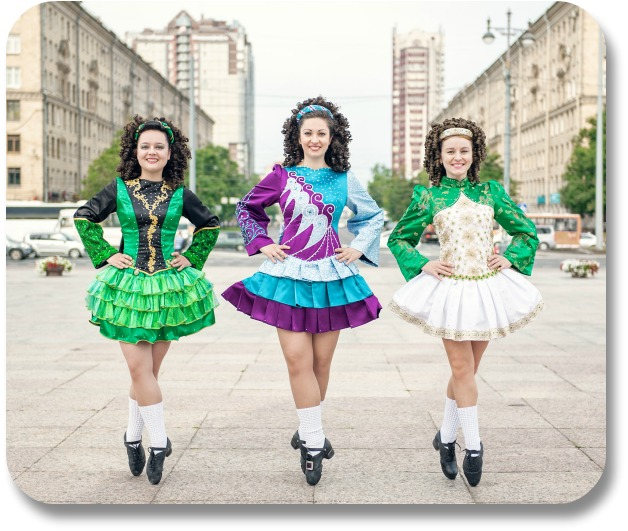 Irish Jig - Three Women Dancing
