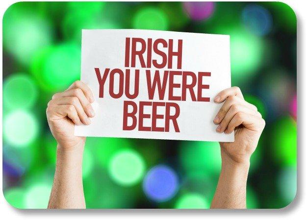 Irish Humor - I Wish You Were Here