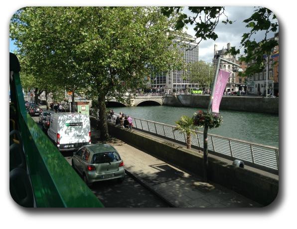 Ireland Travel Destinations - River Liffey Through Dublin