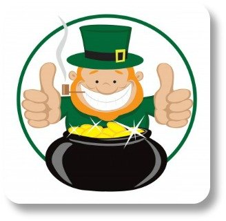 Funny Limericks.  Leprechan thumbs up!