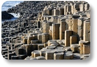 Irish Expressions - The Giant's Causeway.