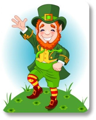 Irish Limerick Poem - Strutting Leprechan