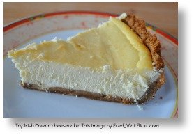 Irish Desserts - Irish Cream Cheescake