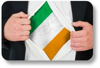 Using Irish phrases.  Now THIS is how you show your Irish side!