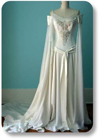 Irish Wedding Gown.